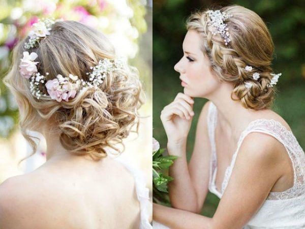 Como Llevar Diademas De Flores Para Novia Fiestas Y Peinados