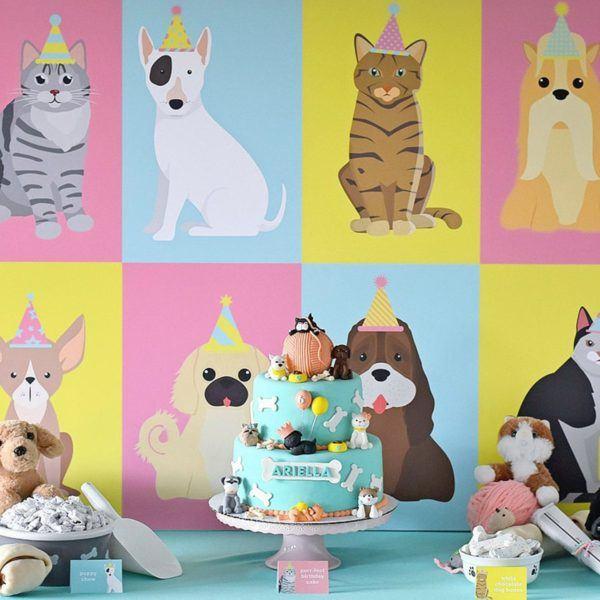 Cómo decorar fiestas infantiles con materiales reciclados animales