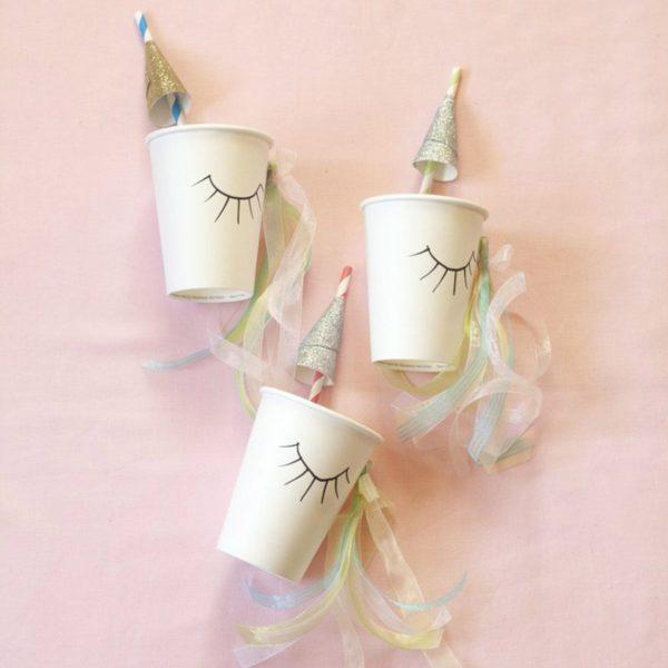 Cómo decorar fiestas infantiles con materiales reciclados unicornios