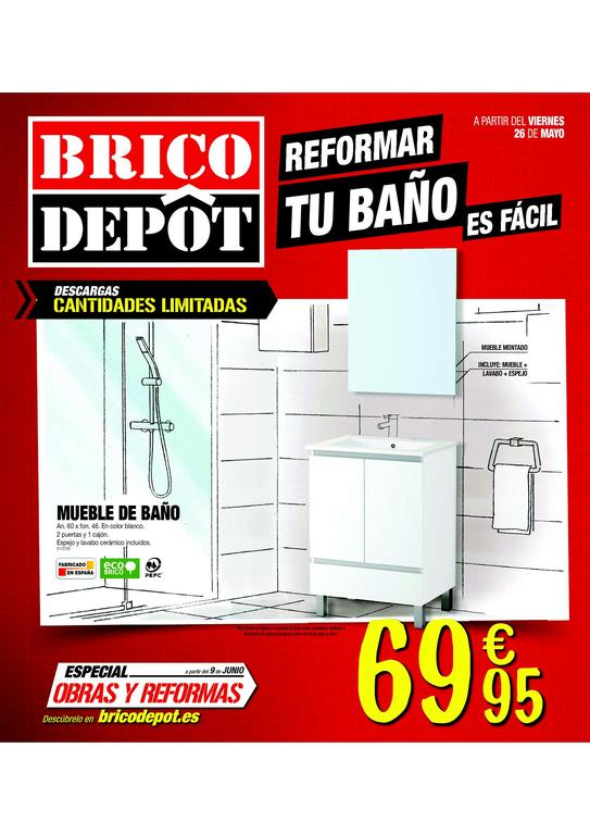 Cat logo brico depot junio 2017 for Catalogo bricoman orbassano 2017