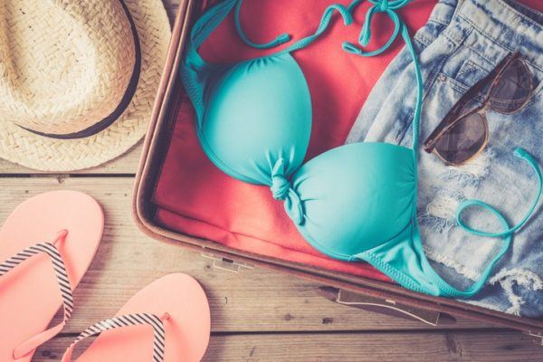 Como hacer una maleta bikini verano