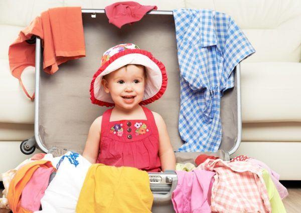 Como hacer una maleta niña verano
