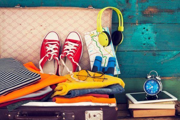 Como hacer una maleta verano converse