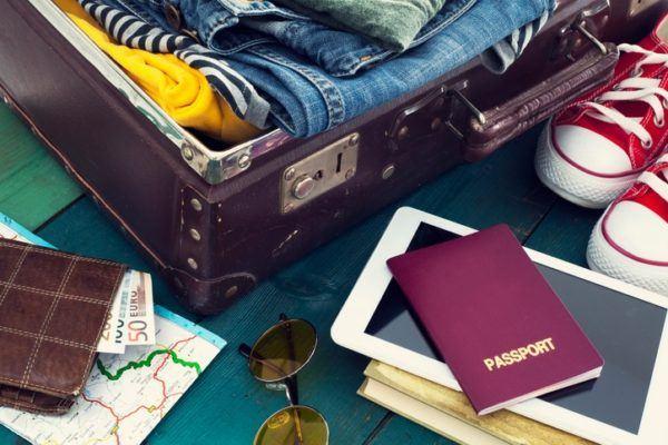 Como hacer una maleta verano pasaporte