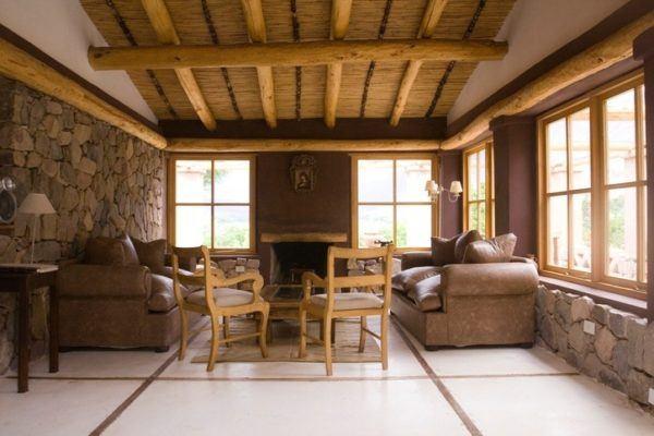 Ideas de chimeneas r sticas con encanto - Casas rusticas por dentro ...
