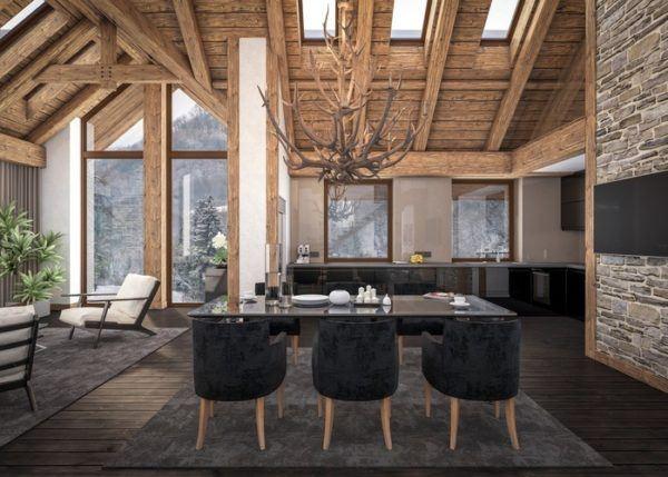 Ideas de chimeneas r sticas con encanto bricolaje 10 - Chimeneas rusticas ladrillo ...