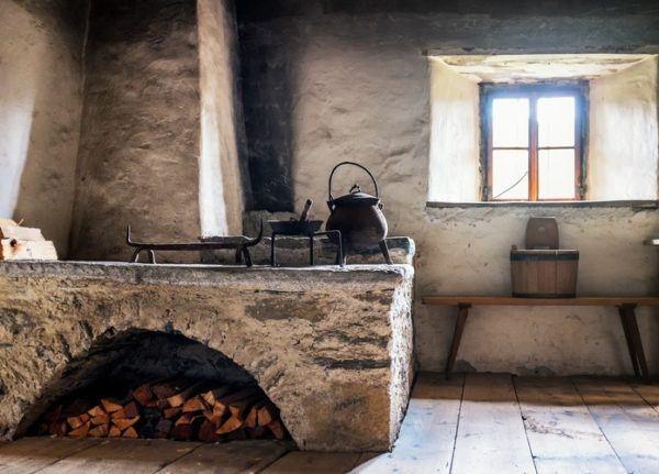 Ideas de chimeneas rsticas con encanto Bricolaje10com