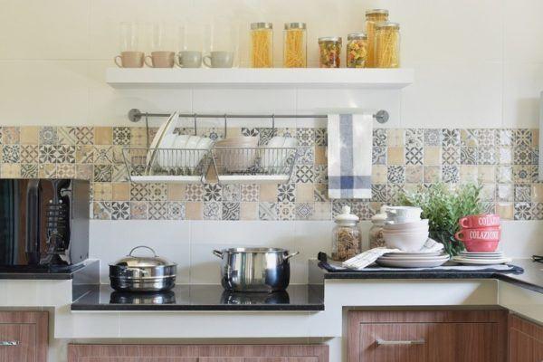 Decoraci n de cocinas r sticas con encanto - Azulejos cocinas rusticas ...