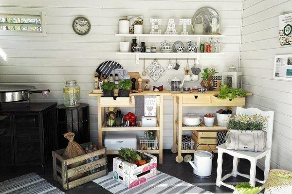 Decoración de cocinas rústicas con encanto - Bricolaje 10