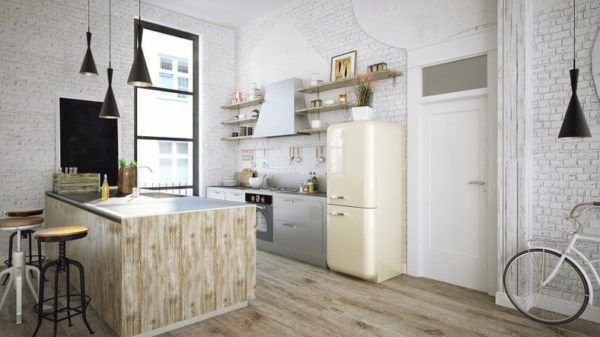 Cocinas De Ladrillo Rustico | Decoracion De Cocinas Rusticas Con Encanto Bricolaje 10