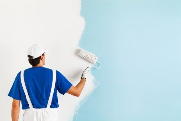 Pintar gotele a mano mural infantil pintado a mano con - Como quitar el gotele de una habitacion ...