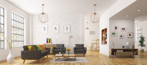 en el caso de las ideas para la decoracin de salones son pioneros y este saln que parece una apple stores es una pasada