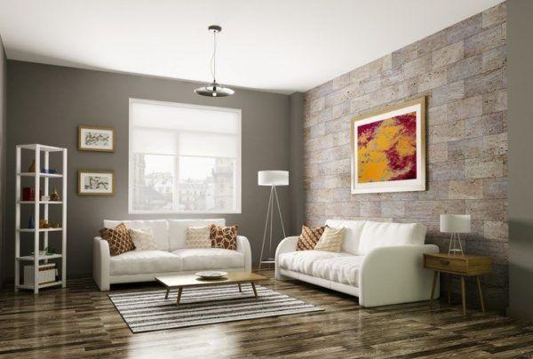 Bricolaje 10 ideas para la decoraci n de salones bricolaje 10 - Decoracion paredes salones modernos ...