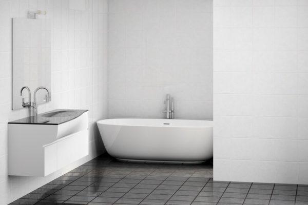 esto te permitir un lavabo ms grande y una sensacin de mayor amplitud a la real una idea para decorar baos pequeos