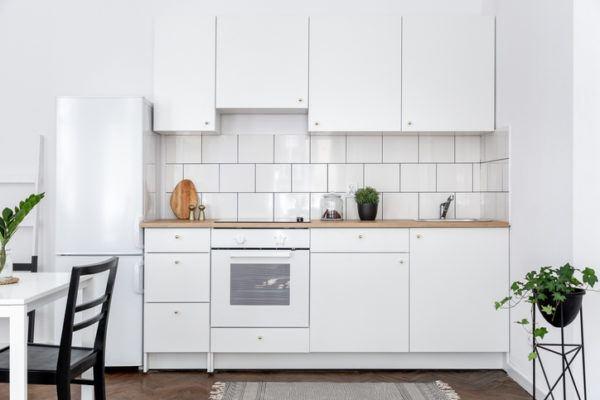 Cocinas rusticas amplia blancas