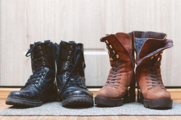 Como hacer un organizador botas