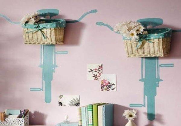C mo decorar cestas de mimbre con materiales reciclados for Como aprovechar una cesta de mimbre