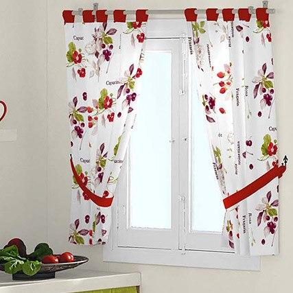 Cómo hacer una cortina para la cocina - Bricolaje10.com