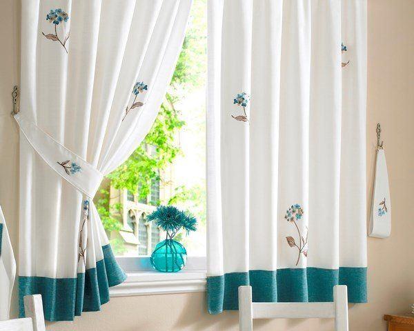 C mo hacer una cortina para la cocina for Cortinas para cocina fotos