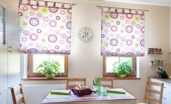 Cómo hacer una cortina para la cocina - Bricolaje 10