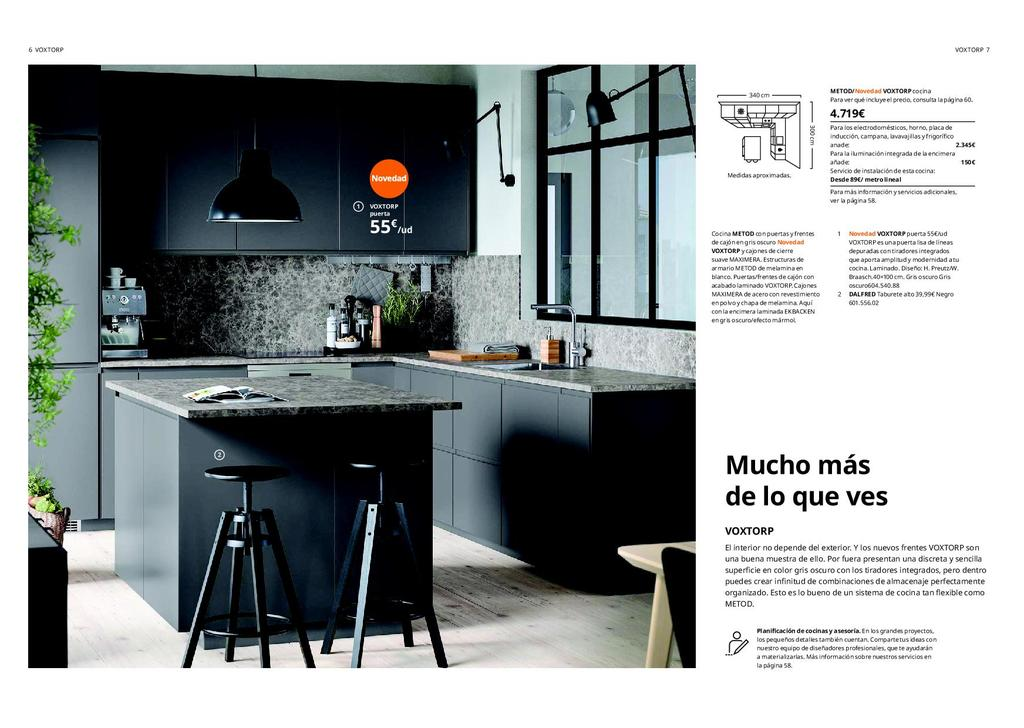 Cocinas modernas | Catálogo Ikea 2020 - Bricolaje10.com