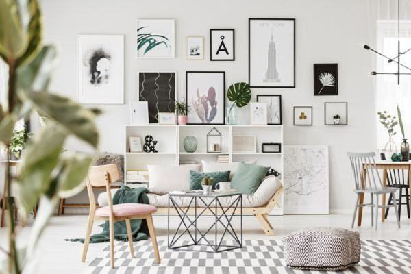 decorar-una-pared-con-fotos