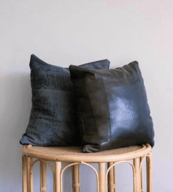 Ideas para reciclar - Reciclar ropa, botellas y envases cojines cuero