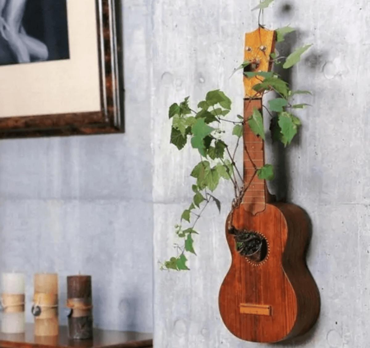 Ideas para reciclar - Reciclar ropa, botellas y envases guitarra