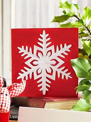 Cómo hacer un copo de nieve de papel para la decoración en Navidad regalo