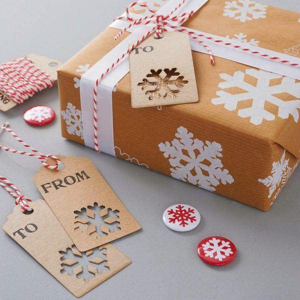 Cómo hacer un copo de nieve de papel para la decoración en Navidad tarjeta
