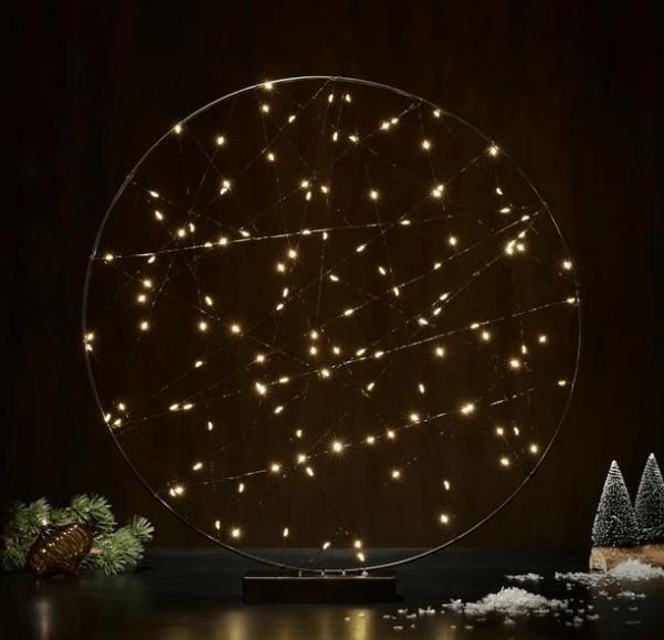 Catálogo Navidad Casa 2020 círculo LED