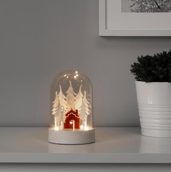 Catálogo Navidad IKEA 2020 lámpara led