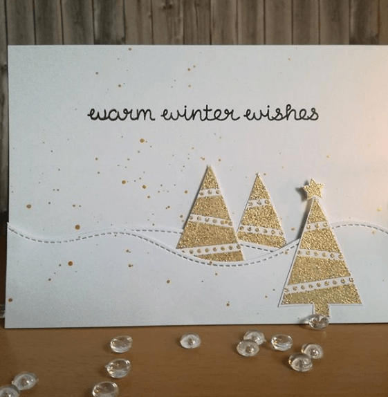 Tarjetas de Navidad 2020 Artesanales manualidad