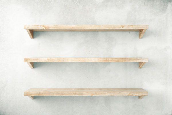 Las mejores maneras para ordenar tu habitacion estanteria