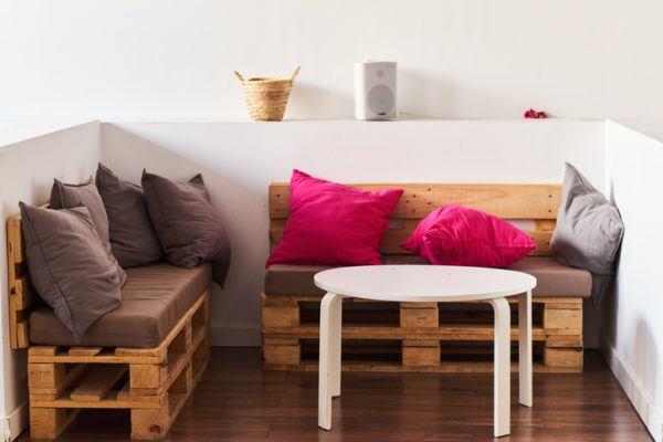 Como hacer un sofa comodo de palets chaisse long