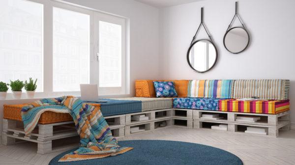 Como hacer un sofa comodo de palets