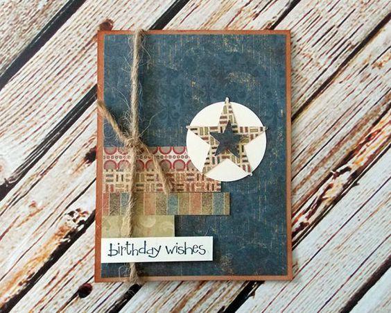 Tarjetas para el Día del Padre con materiales reciclados cuaderno