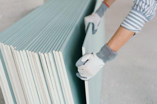 Como hacer un mueble de pladur para el salon materiales