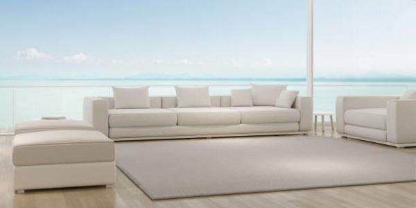 Limpiar sofa de piel blanco