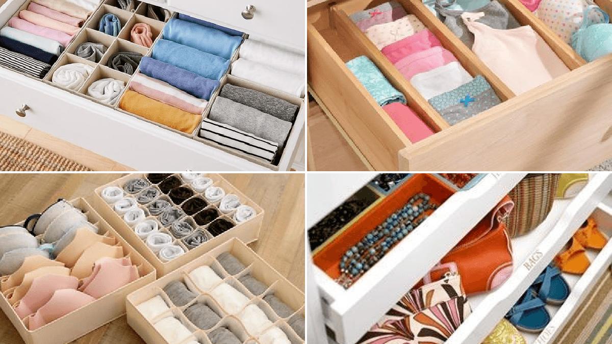 Cómo Organizar Los Cajones Del Dormitorio Bricolaje10 Com