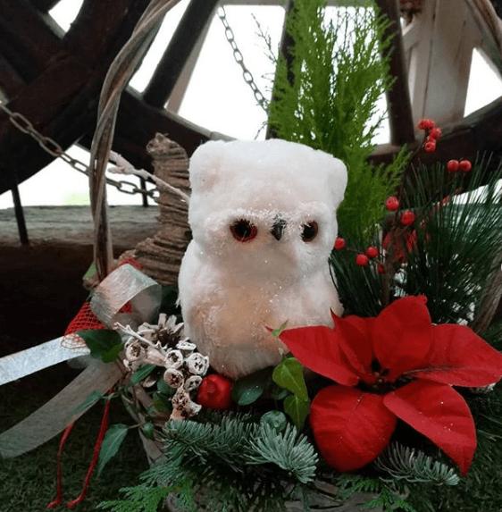 Centro de Mesa de Navidad 2020 peluche