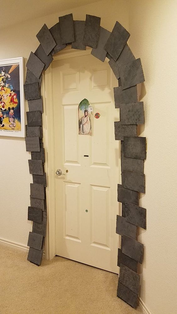 Manualidades de Harry Potter fáciles para hacer con niños puerta mágica