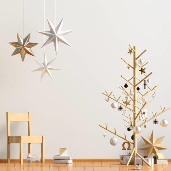 Arboles de navidad 2020 2021 diy manualidades originales arbol con perchero
