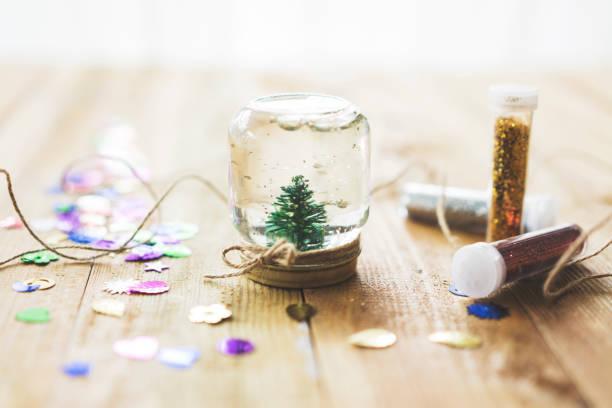 Arboles de navidad 2020 2021 diy manualidades originales arbol pequeño frasco