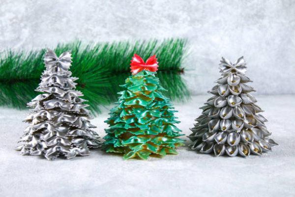 Arboles de navidad 2020 2021 diy manualidades originales pasta seca