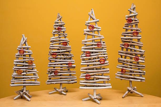 Arboles de navidad 2020 2021 diy manualidades originales ramas madera