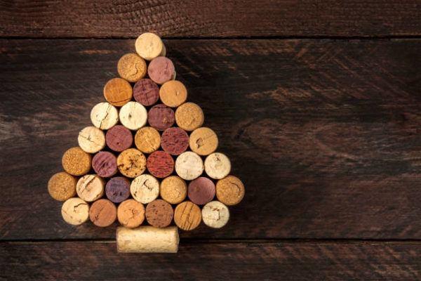 Arboles de navidad 2020 2021 diy manualidades originales tapones corcho