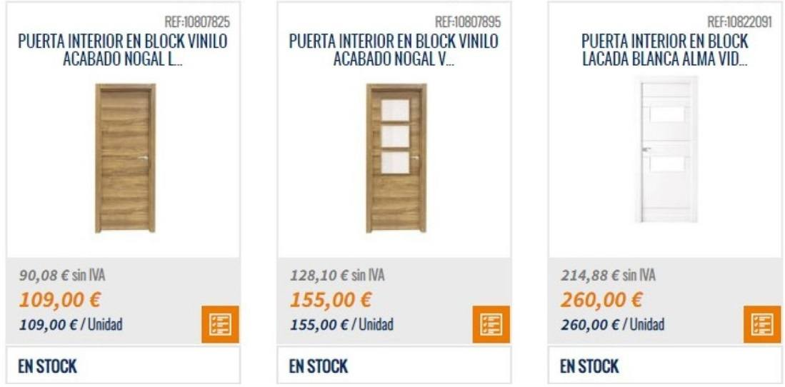 Catalogo Bricomart 2021 FOTOS puertas de interior en block vinilo