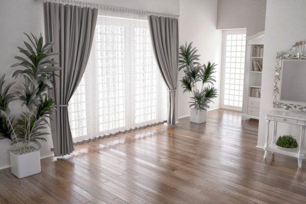 Como hacer cortinas salon clasicas atadas