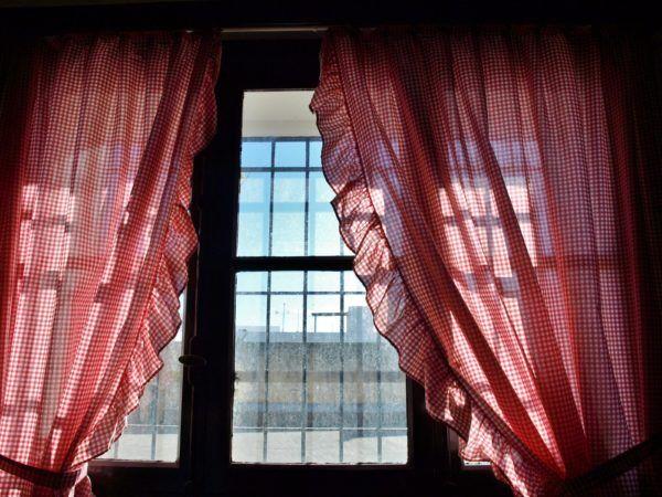 Como hacer cortinas salon clasicas puntilla